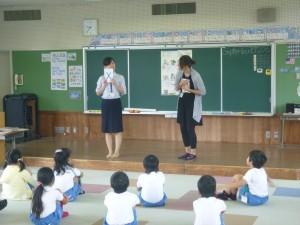 1年 Let's study English!!