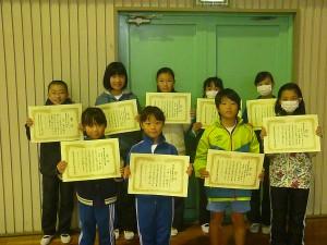 茨城県児童生徒科学研究作品展鹿行地区展「銅賞」の児童